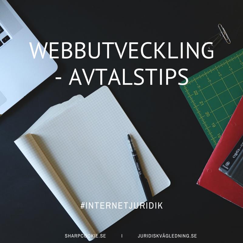 Webbutveckling - avtalstips