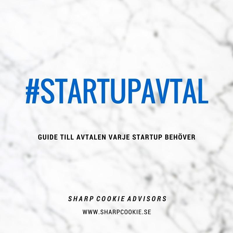 avtal, startup, investerarvänligt