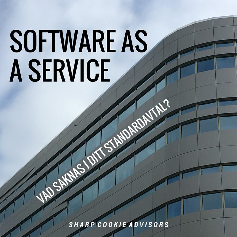 Software as a Service avtal